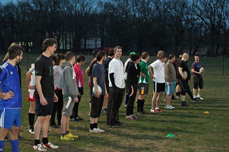 Rugby Wrocław: Treningi w okresie letnim