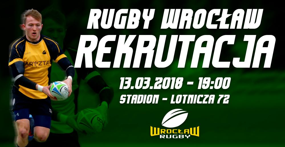 Wiosenna rekrutacja Rugby Wrocław!