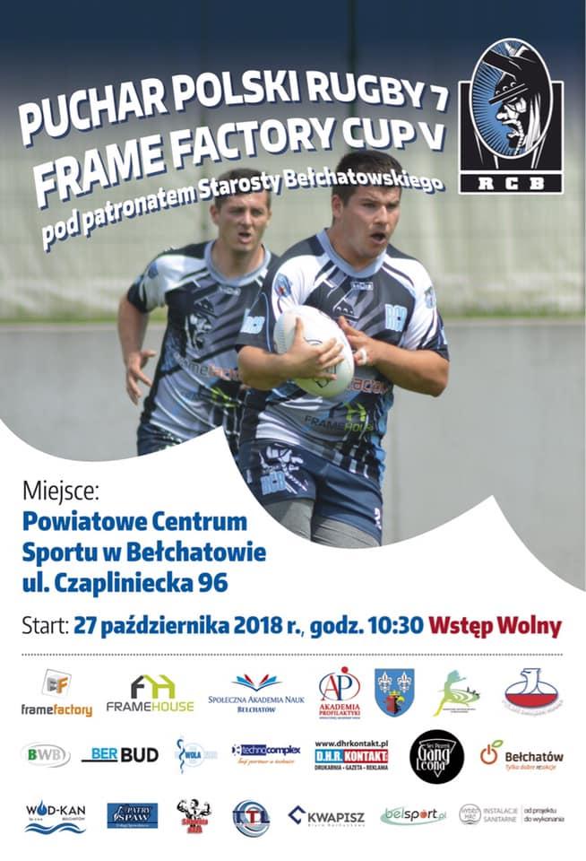 Przed turniejem Pucharu Polski Rugby 7 w Bełchatowie