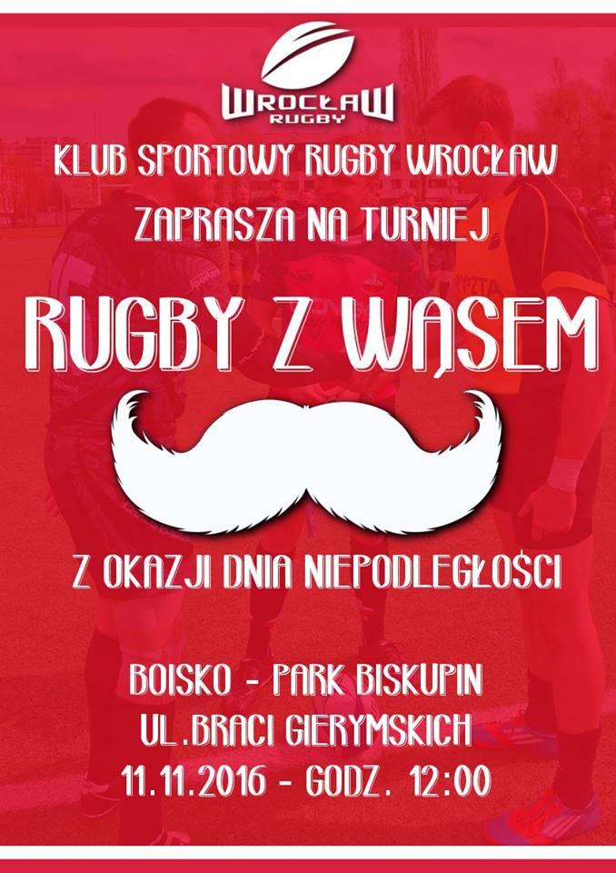 11 listopada – Turniej Rugby z Wąsem