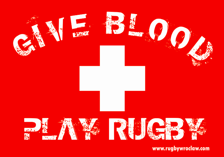 Give blood – Play rugby!