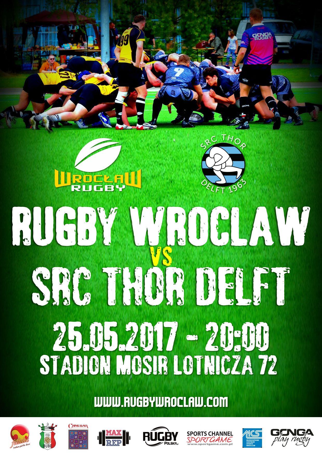 Rugby Wrocław – SRC Thor Delft – zapowiedź meczu