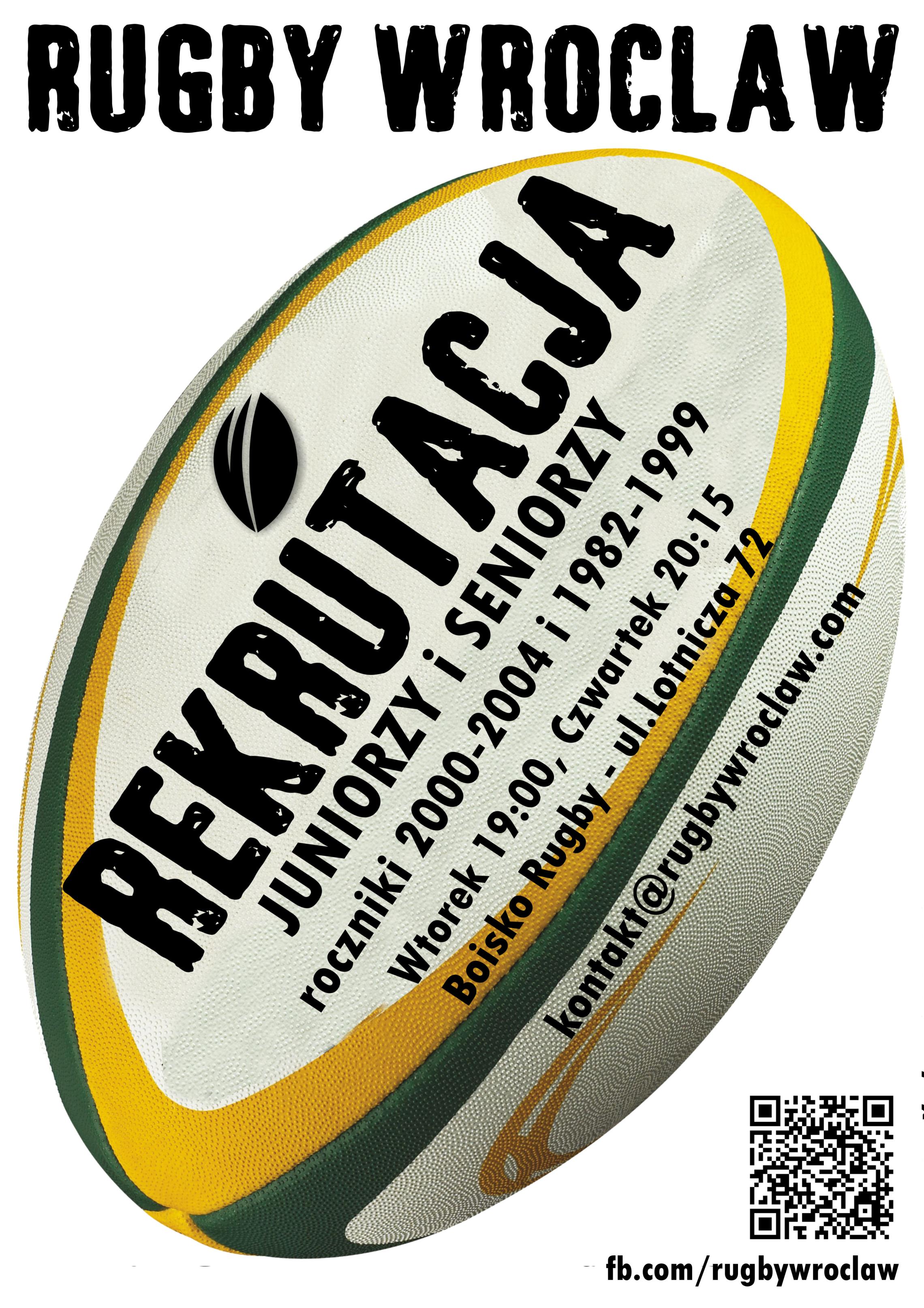 Rekrutacja do Rugby Wrocław