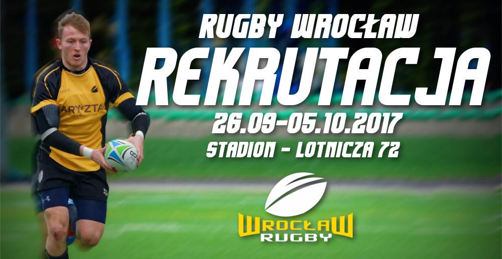 Rekrutacja do seniorów Rugby Wrocław