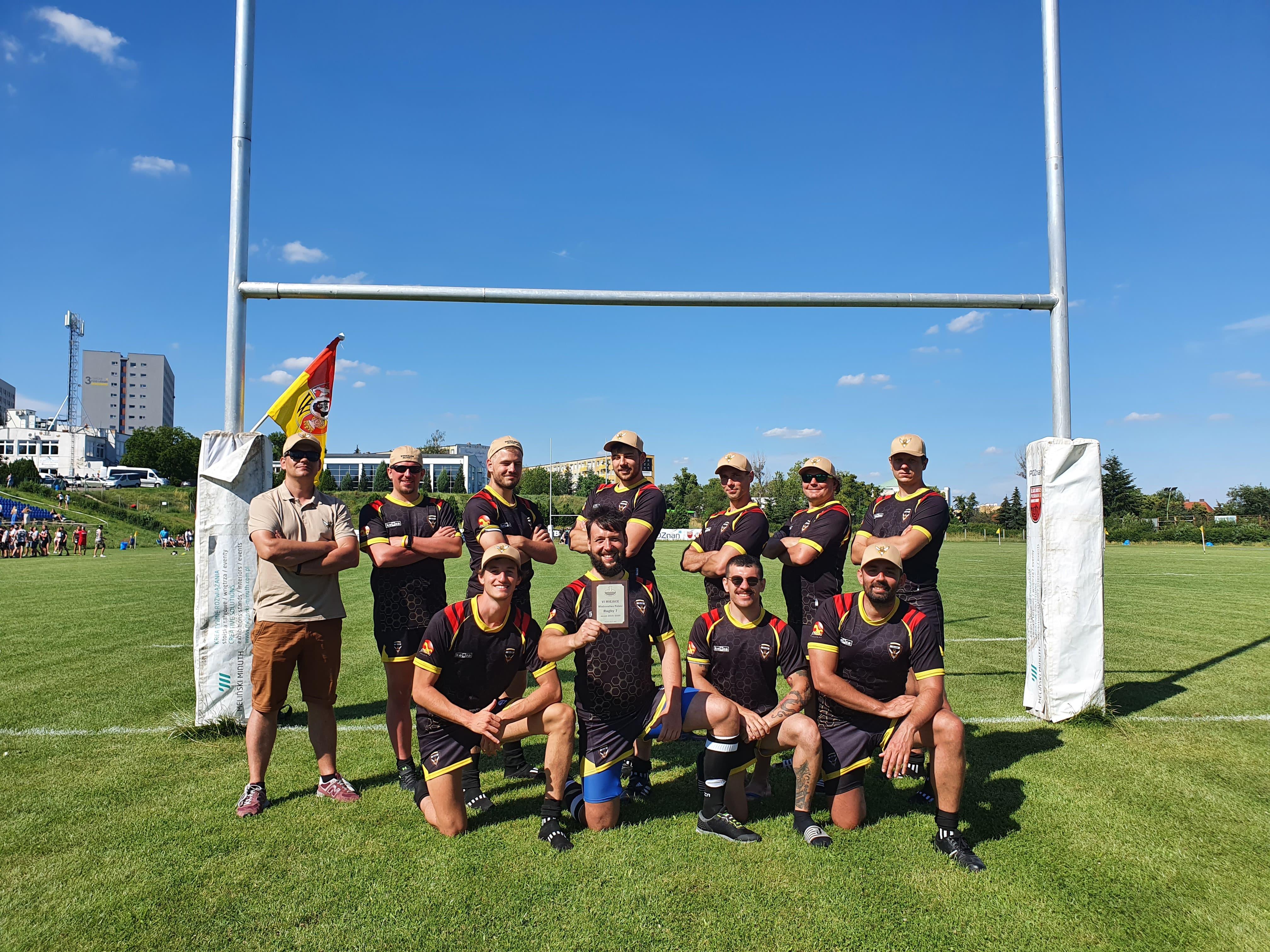 6. miejsce w Mistrzostwach Polski Rugby 7