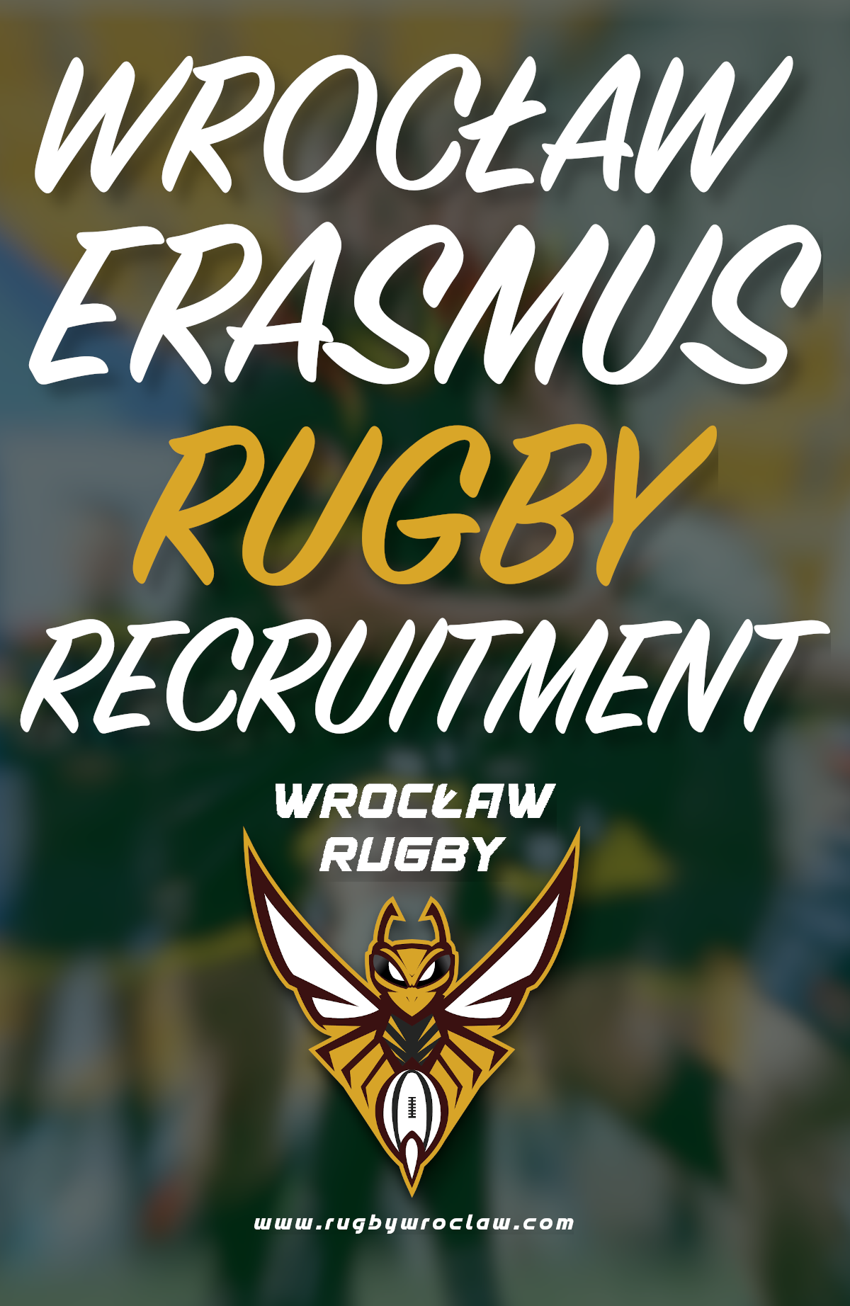 Erasmus Rugby recruitment